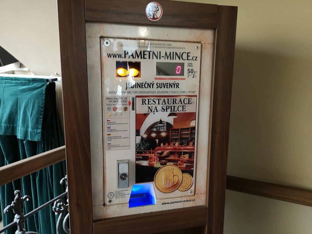 Naspilceコイン販売機
