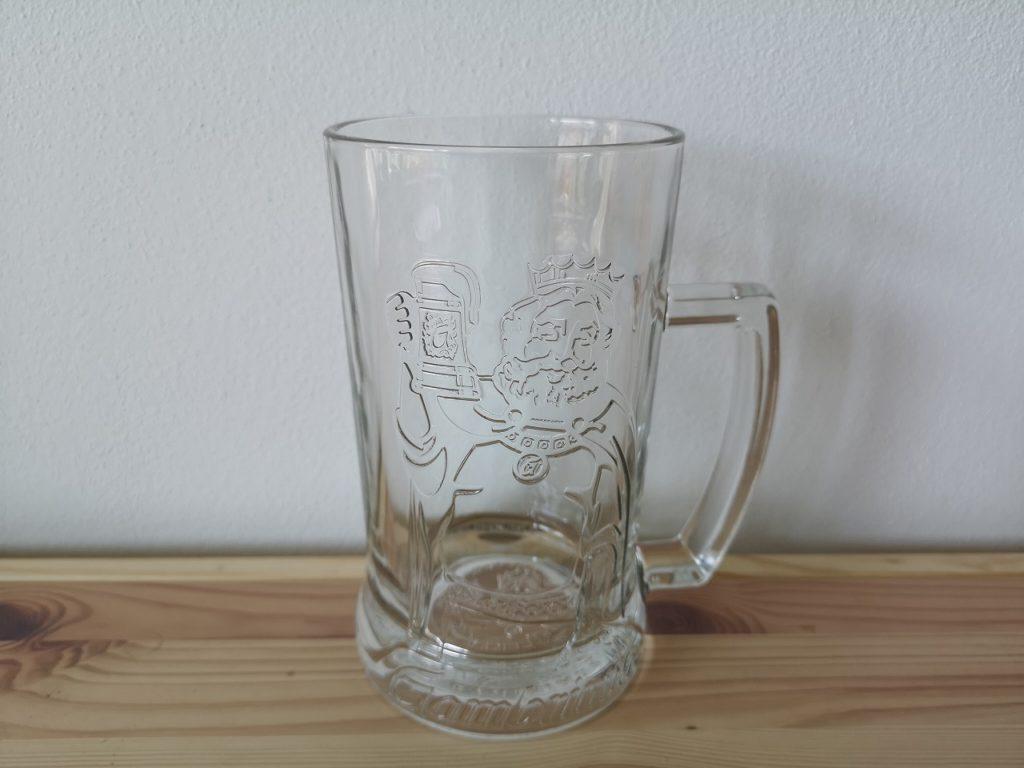 ガンブリヌスのグラス